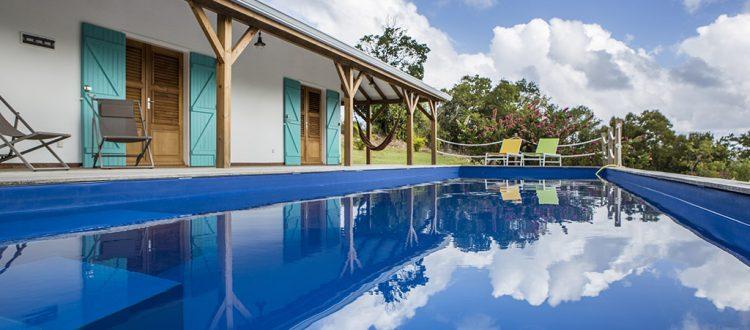 Villa Coccoloba avec piscine à Marie Galante
